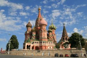 Die Die Basilius-Kathedrale in Moskau, Foto: Bernt Rostad, Lizenz:Creative Commons by/2.0