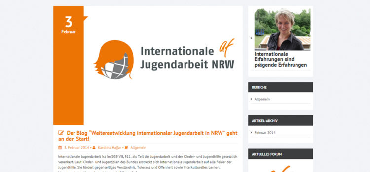 Internationale Jugendarbeit